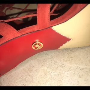 MICHAEL Michael Kors Shoes - NWOB Michael Kors Sandal heel Tassel fringe Sandal